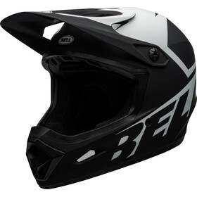 Bell Transfer Casco, matte black/white